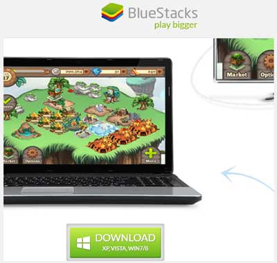 descarga BlueStacks