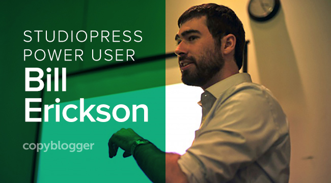 StudioPress power user Bill Erickson