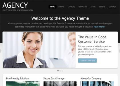 image of agency theme